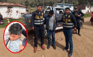 Capturan en Huancavelica a sujeto que golpeó a mujer con una botella en la cabeza