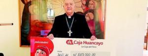 Caja Huancayo dona 885 mil soles para implementar de planta de oxigeno