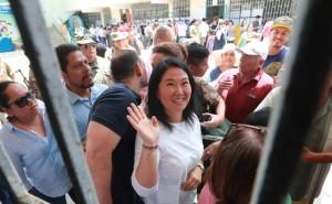 Juez Zúñiga decide hoy situación legal de Keiko Fujimori