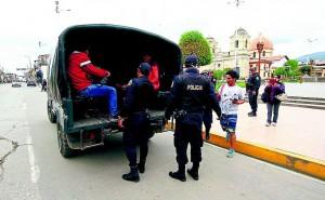 En primera semana de cuarentena, mil personas detenidas por no acatar aislamiento