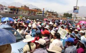 Huancayo: más de 100 pobladores continúan en cabalgata de sacrificio a Lima