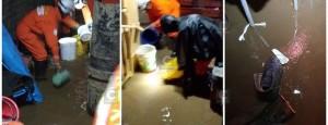 15 casas inundadas por aguas servidas y familias se encuentran en riesgo