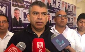 Carrera política de Julio Guzmán se desploma