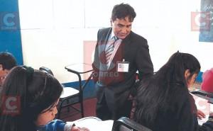 Gerson Ames, el profesor huancaíno que va por el Premio Nobel de Educación