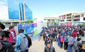 Evalúan que examen de admisión a UNCP se realice cumpliendo protocolos sanitarios