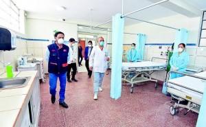 Junín: Gobierno regional implementa Hospital Regional de Emergencia contra el COVID-19 con 64 camas