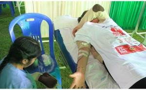 ?Al año solo 5 personas donan sangre de forma voluntaria