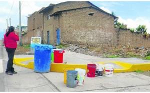 Atención en El Tambo: saquen los baldes, porque restringirán agua por 18 días