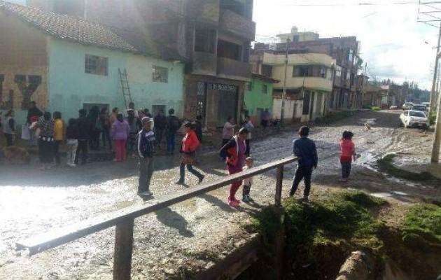 Huancayo: lluvias dejan al menos 150 familias damnificadas