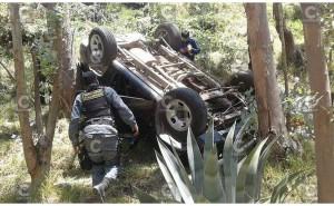 Carretera Central: Pareja que viajaba de Lima a Huancayo queda herida en accidente