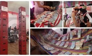 Cerveza y dinero a montones, los infaltables regalos en las bodas de Huancayo