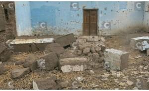 Comerciante arreglaba su casa y muere al ser aplastado por una pared