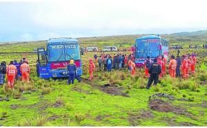 Delincuentes aprovecharon huaico para robar 70 mil a pasajeros en vía Huancayo - Huancavelica
