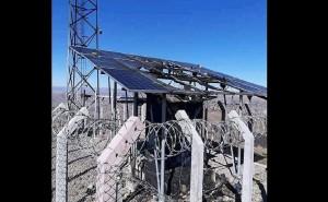 Huancavelica: Creyendo que es 5G queman antena de telefonía y retienen a trabajadores