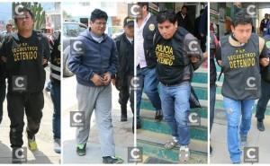 Huancayo: detienen a policías acusados de secuestro y extorsión