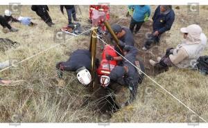Huancayo: Encuentran restos óseos humanos en presunta fosa común