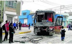 Huancayo: Triple choque entre bus, camión y 'sapito' deja 20 heridos
