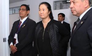 Keiko Fujimori dejaría prisión hoy tras publicación del Tribunal Constitucional