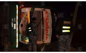 La Oroya: Accidente de bus Turismo Central deja dos muertos y 38 heridos
