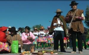 Layas rinden homenaje a la tierra como antesala al Año Nuevo Andino