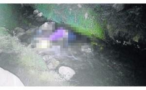 Madre buscaba a su hija  de 15 años y la halla sin vida en un canal de riego