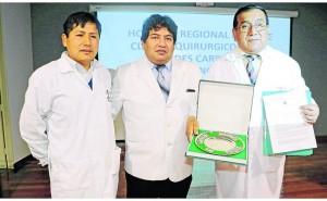 Médicos de la región Junín logran premio internacional