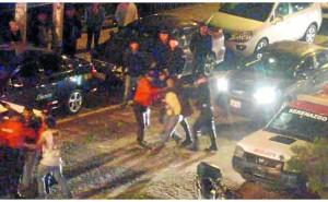 Huancayo: Ebrios agreden a la Policía y desatan escándalo para evitar ser detenidos