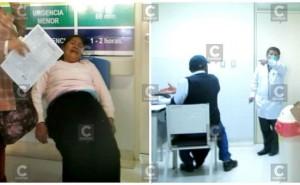 Mujer con tumor llora de dolor y está es la indignante reacción del médico