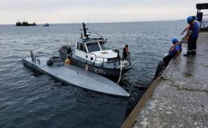 Narcosubmarino llegó a Paita tras ser descubierto en altamar