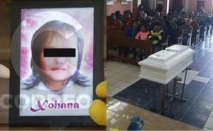 Xohana murió por edema cerebral tras caer a cámara de bombeo de pileta, según necropsia