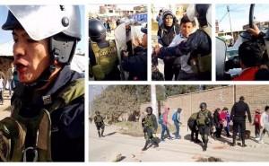 Paro de transportistas: Un policía herido deja enfrentamiento
