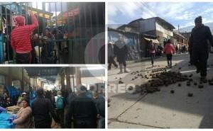 Productores de papa desatan violencia en mercados de Huancayo