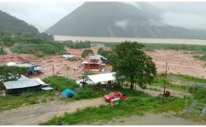 Satipo: Huaico deja ocho personas desaparecidas y media comunidad bajo el lodo