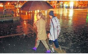 Senamhi alerta lluvias y vientos desde hoy hast el domingo